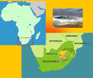 SouthAfrica-Vredford-crater-meteorite-largest-deposit-gold-world