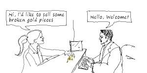 gold transaction